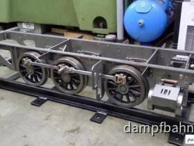 Wurttembergische T3  Rahmen auf Räder