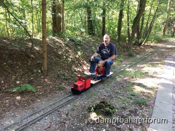 Bei den Kleinbahnfreunden in Waldkraiburg