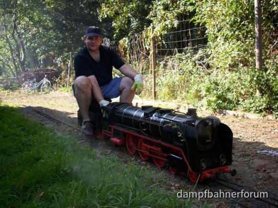 Mathias und die Dampfloks...
