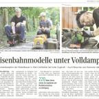 Zeitungsbericht Aller-Zeitung / Sommerdampfen 2016 in Klein Vollbüttel