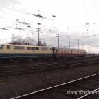 Sonderzug zum Koblenzer Hauptbahnhof