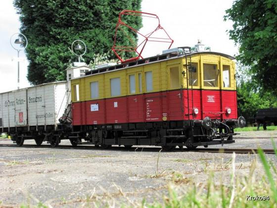 ET 188 521 im alten Bahnhof Oberursel