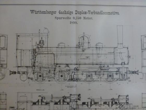 Württemberger 4achsige Duplex Verbundloccomotive