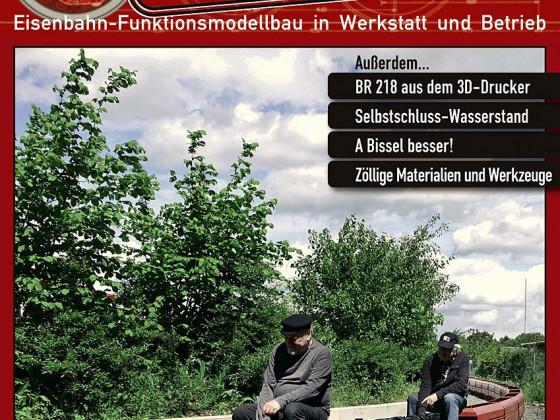 Heft 3 der Gartenbahn-Werkstatt wird in Kürze ausgeliefert!