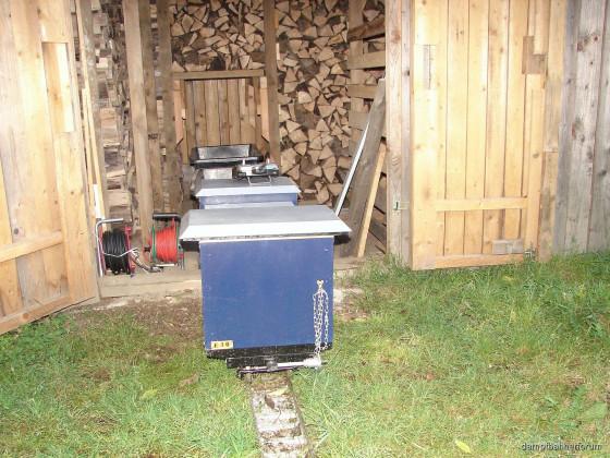 Brennholzführen