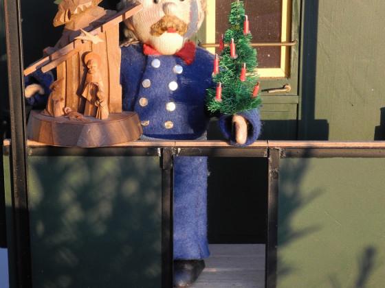 Schaffner Horst wünscht frohe Weihnacht