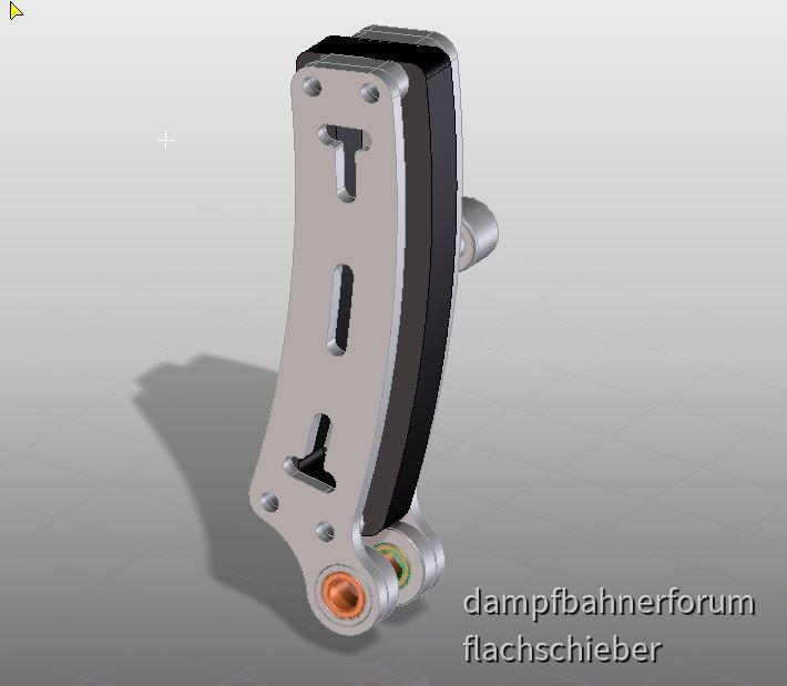 Neue Schwinge für ZM80er für Fahren mit Füllung