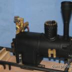 Dampfzwergkessel - rechte Seite