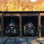 Impresionen vom Bahnmuseum in Lužná