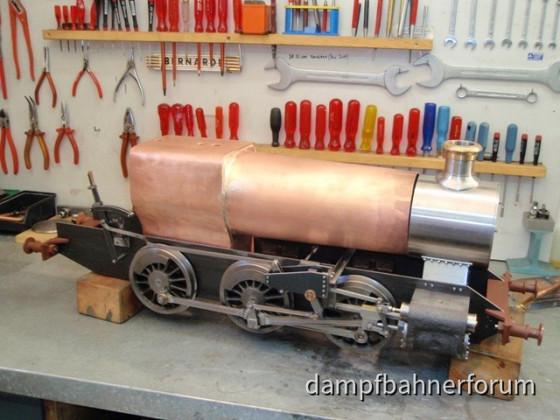 Kesselbau für GWR 1509 Spur 5