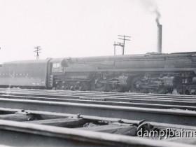Welt größte und schnellste Kohlebefeuerte Personenzuglok die class S1 der PRR