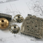 Bauteile Antrieb DL6