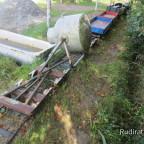 Wassertransport - Entladung an der Pferdetränke