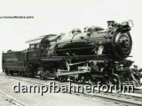 Atlantic 4-4-2 mit Tender-PennsylvaniaRailroad