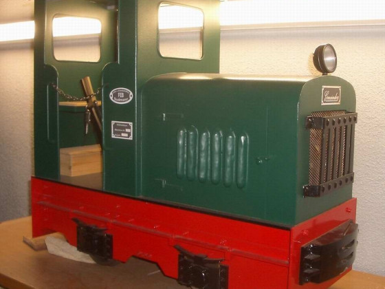 Gmeinder Feldbahnlok