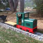 Kleiner Feldbahn-Zug
