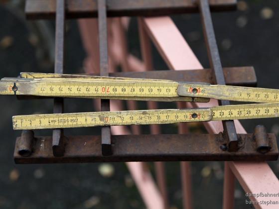 Schienenkrein 7 und 5 Zoll   18m-Durchmesser