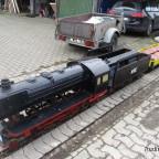 """HSE Steinetransport zur Baustelle """"Terrasse"""" 1"""