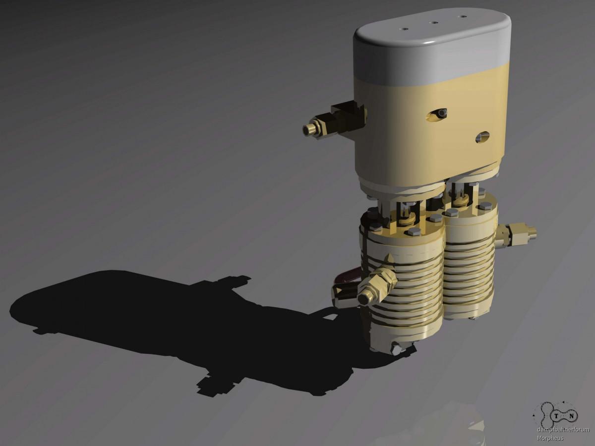 Doppelverbund-Dampfluftpumpe 01