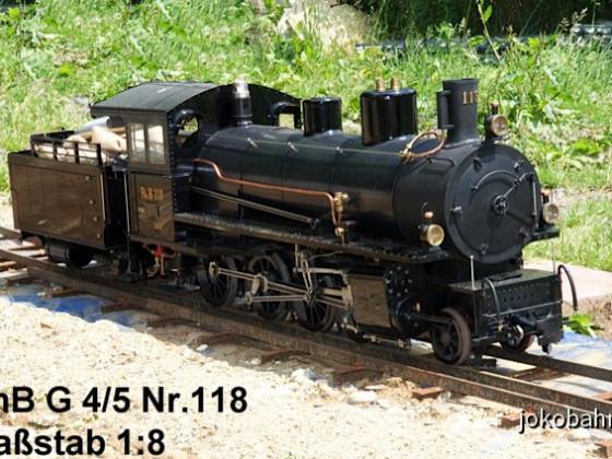 "5"" RhB G 4/5 Nr.118"