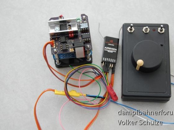 Funk-Fahrtregler mit IBT2