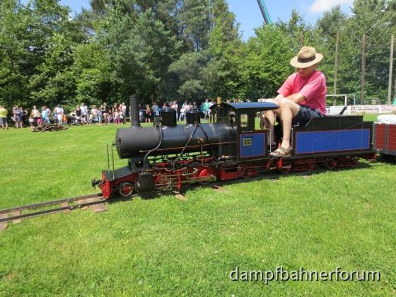 7,25 Zoll Minieisenbahn Familienfest Wiesmoor 2014
